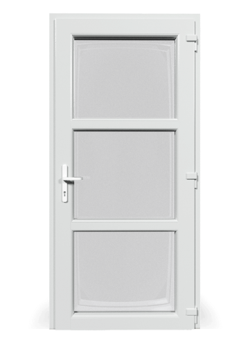 Profilové plastové dvere